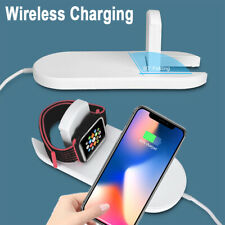 Wireless Charger Charging Dock Station For iPhoneX XS MAX /Apple iWatch1/2/3/4