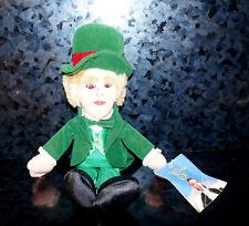 NWT Warner Bros WIZARD OF OZ MAGICIAN MAYOR Bean Bag PLUSH Doll Irish WB 98 Toy