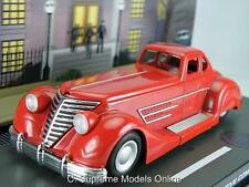 BATMAN BATMOBILE 30'S DC COMIC CAR 1/43RD SCALE RED COLOUR EXAMPLE PKD T3412Z(=)