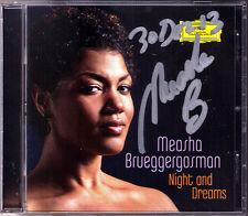 Measha Brueggergosman SIGNED Night and Dreams Debussy STRAUSS Schubert Faure CD