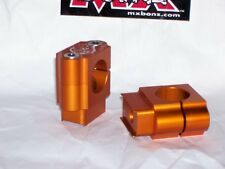 "BAR MOUNTS KTM 50SX HANDLE BAR CLAMPS KTM 50SX MINI 28mm 1-1/8"" FATBAR 1998-2017"