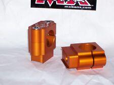 "BAR MOUNTS KTM 350 SX MXC XC HANDLEBAR CLAMPS 22mm 7/8"" KTM BAR CLAMP 1998-2015"