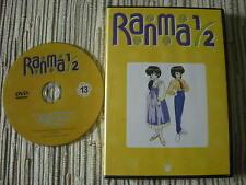 DVD ANIMACIÓN MANGA RANMA 1/2  LA SERIE DE TV VOLUMEN 13 USADO BUEN ESTADO