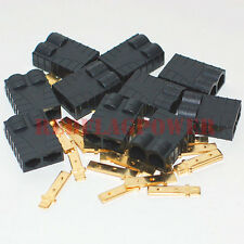 10 female Traxxas trx type high current plug connector for lipo nimh battery