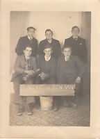 Photo ancienne conscrits en 1940