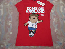 "BNWT  ""WEENICONS"" 'COME ON ENGLAND' T-SHIRT - SIZE 6"