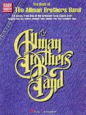 ALLMAN BROTHERS BAND - EASY GUITAR TAB BOOK - SONGBOOK