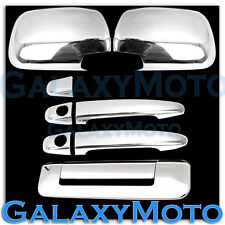 05-11 TOYOTA TACOMA Chrome plated Full ABS Mirror+2 Door Handle+Tailgate Cover