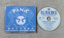 "CD AUDIO INT / DJ MAURICE FEAT MR. GROOVE & ALDY ""NIGHTLIFE "" CD MAXI 861 551-2"