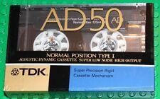 TDK  AD   50      VS. II          BLANK CASSETTE TAPE (1)   (SEALED)