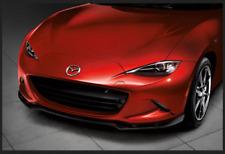 New 06-19 MX-5 Miata OEM Mazda Front Air Dam Lip Glossy Black QNDE-50-AH0B