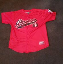 Playerz 69 Hip Hop Rap Vintage Baseball Jersey Size 2XL