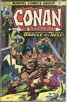 Conan the Barbarian #54 | September 1975 | Marvel Comics