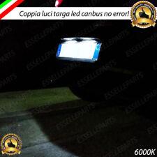 LUCI TARGA LED CITROEN DS3 DS4 C4 CACTUS CANBUS 6000K