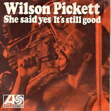 7inch WILSON PICKETT she said yes FRANCE 1970 EX+  (S1593)