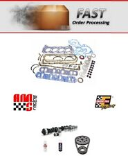 68-82 FORD SBF 5.0L 302 STG 2 448/472 LIFT CAMSHAFT LIFTERS TIMING GASKETS KIT