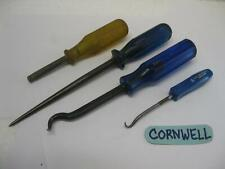Cornwell tools 4 Piece Hook Pick nut spinner Awl CPP-5 SCA-805 SDP-H404 HN-02-P