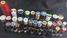 Lot of Thread Random Different Colors Brands Types 55 Ct Sewing Crafts
