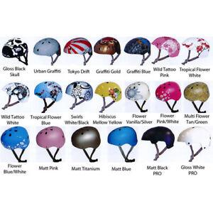 BMX MTB Bicycle Bike Skateboad Scooter DNA Hardshell Helmet Bucket Freestyle