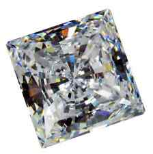 Cubic Zirconia White Square AAA Quality CZ Loose Stones (1.25x1.25mm - 10x10mm)
