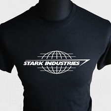 Stark Industries T Shirt Iron Man Tony Avengers Assemble Cool Bd Livre Héros BK
