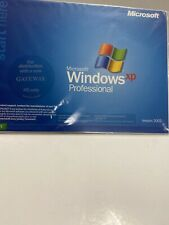 Microsoft Windows XP Professional CD only New