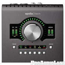 Universal Audio Apollo Twin MKII QUAD Thunderbolt Recording Studio Interface NEW