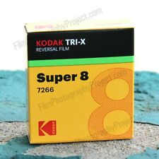 SUPER 8 FILM - KODAK TRI-X BW REVERSAL 7266 (New, Kodak Fresh)