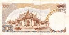 Thailand  10  Baht  ND. 1969  P 83a  Series  8 H  Circulated Banknote