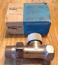 "Braukmann V110 Radiator boiler valve body 1""  V110 NOS"