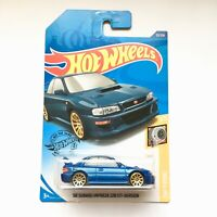 "Hot Wheels '98 SUBARU IMPREZA 22B STi Blue 2019 HW Turbo 1/5 ""GHB42"" Brand NEW"