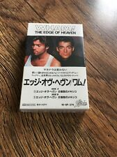 ❣RARE❣️SEALED JAPAN CASSETTE•The Edge Of Heaven~Wham! (George Michael)