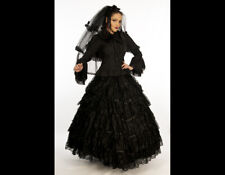 Gothic Bride Steampunk Elegant Flouncing Lace Layers Ophelia Ballgown Skirt