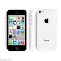 32Go iPhone 5C Apple iOS 4G Téléphone Portable Débloqué Smartphone Mobile Blanc
