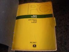 John Deere 2510 Tractor ,Ipl,Illustrated Parts List Manual Pc 957