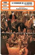FICHE CINEMA : LE SEIGNEUR DE LA GUERRE Heston,Boone,Schaffner 1965 The War Lord