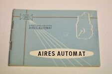 Aires Automat twin lens camera instruction book. English and 22 pages