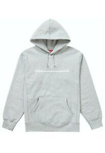 Supreme shop hooded sweatshirt New York size L