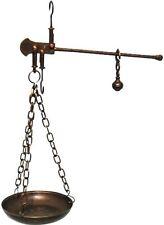 Balance décoratif romaine outil de calcul en laiton bruni 3a Mesure