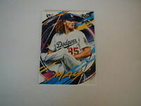 2020 TOPPS FIRE DUSTIN MAY ROOKIE CARD #110 LOS ANGELES DODGERS RC