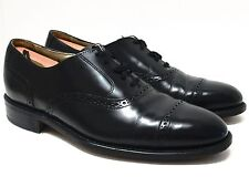BOSTONIAN 'Impression' Black Leather Dress Oxfords Size 10 D/B Made in USA