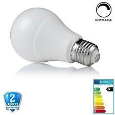 Bombilla led E27 10W A60 800lm Apertura 270º- Regulable (Dimmable)