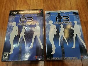 Shin Megami Tensei Persona 3 Limited Edition + Strategy Guide (Playstation 2)