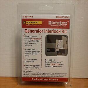 HOMELINE HOMCGK2C Generator Interlock Kit for use on Square D Homeline 150-225a