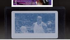 1/1 SHAQUILLE 2014 LEAF PRINTING PLATE PECK & SNYDER CYAN PROMO SHAQ O'NEAL
