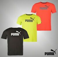 Mens Genuine Puma Dry Cell Short Sleeved No 1 Logo T Shirt Cotton Top Size S-XXL