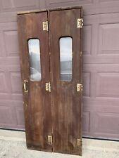 Antique Vintage Wooden Pocket Door