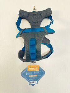 Kurgo Journey Harness for Dog Blue & Gray - Large 50-80 lb #5933 NWT