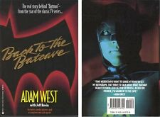 Back to the Batcave by Adam West Batman Autobiography  NEW