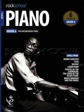 Rockschool Piano Grade 6 from 2019 Music Book/Audio Exam Test SAME DAY DISPATCH